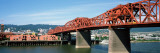 Bascule Bridge across River, Broadway Bridge, Willamette River, Portland, Multnomah County, Oregon Photographic Print by  Panoramic Images