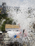 Balloons are Released into the Air to Celebrate the New Year in Sao Paulo Photographic Print