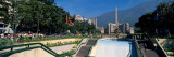 Obelisk in a Park, Plaza Francia, Altamira, Caracas, Venezuela Photographic Print by Panoramic Images