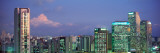 Itaim Bibi Office Towers Dusk Sao Paulo Brazil Photographic Print by  Panoramic Images