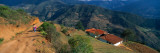 Houses at the Mountainside, San Rafael De Mucuchies, Merida State, Andes, Venezuela Photographic Print by  Panoramic Images