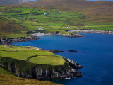 Coastal Views on the Beara Way, Near Ballydonegan, Beara Peninsula, County Cork, Ireland Photographic Print