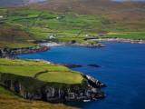 Coastal Views on the Beara Way, Near Ballydonegan, Beara Peninsula, County Cork, Ireland Photographic Print