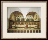 Last Supper Poster by Domenico Ghirlandaio