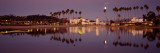 Reflection of Trees in Water, Santa Barbara, California, USA Photographic Print by  Panoramic Images