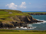 Dunabrattin Head, the Copper Coast, County Waterford, Ireland Photographic Print