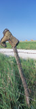 Cowboy Boot on a Fence, Pottawatomie County, Kansas, USA Fotoprint van Panoramic Images,