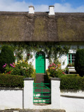 Traditional Cottage Doorway, Stradbally, County Waterford, Ireland Photographic Print