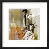 New York II Print by Gery Luger