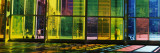 Multi-Colored Glass in a Convention Center, Palais De Congres De Montreal, Montreal, Quebec, Canada Photographic Print by  Panoramic Images