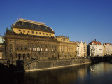 National Theater at the Waterfront, Prague, Czech Republic Photographic Print