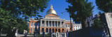 Facade of Government Building, Massachusetts State Capitol, Boston, Suffolk County, Massachusetts Photographic Print by  Panoramic Images
