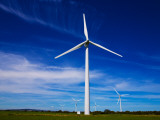 Windfarm, Bridgetown, County Wexford, Ireland Photographic Print