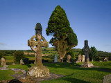 8th Century, High Cross in Ahenny Graveyard, County Tipperary, Ireland Photographic Print