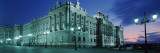 Palace Lit Up at Dusk, Royal Palace, Madrid, Spain Photographic Print by  Panoramic Images