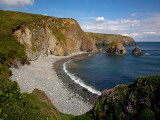 Lady's Cove, Copper Coast , County Waterford, Ireland Photographic Print