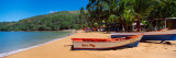Boats on the Beach, Colorada Beach, Mochima National Park, Anzoategui State-Sucre State, Venezuela Photographic Print by  Panoramic Images