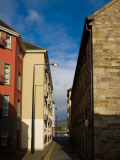 Blend of Old and New Buildings in Narrow Lanes, Dungarvan, County Waterford, Ireland Photographic Print