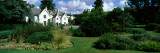 Garden in Front of Buildings, Hillier Gardens, New Forest, Hampshire, England Photographic Print by  Panoramic Images