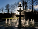 Fountain in the Millennium Garden, Lismore, County Waterford, Ireland Photographic Print