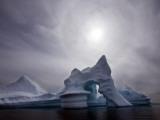 Iceberg Melts Off Ammassalik Island in Eastern Greenland Photographic Print