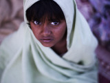 During a Daily Class to Learn How to Read Verses of the Quran in a Slum of Pakistan Photographic Print