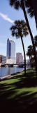 Buildings Viewed from the Riverside, Hillsborough River, University of Tampa, Florida, USA Photographic Print by Panoramic Images