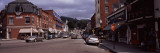 Cars Parked in Front of Stores, Camden, Knox County, Maine, USA Photographic Print by  Panoramic Images