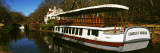 Barge in a Canal, Chesapeake and Ohio Canal National Park, Washington Dc, USA Photographic Print by  Panoramic Images