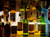 Bottles of Liquor, De Luan's Bar, Ballydowane, County Waterford, Ireland Photographic Print