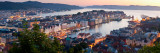Buildings in a City, Bergen, Hordaland County, Norway Photographic Print by  Panoramic Images