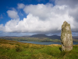 Standing Stone on Bear Island, Beara Peninsula, County Cork, Ireland Photographic Print