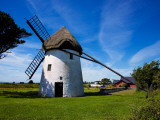 Thatched Windmill, Tacumshane, County Wexford, Ireland Photographic Print