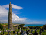 Round Tower in St Declan's 5th Century Monastic Site, Ardmore, County Waterford, Ireland Photographic Print