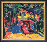 Gateway, 1910 Prints by Karl Schmidt-Rottluff