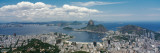 View of a City, Sugarloaf Mountain, Rio De Janeiro, Brazil Photographic Print by  Panoramic Images