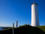 Metal Man Shipping Beacon, Great Newtown Head, Tramore, County Waterford, Ireland Photographic Print