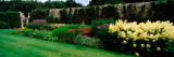 Flowers in a Garden, Pitmedden Garden, Pitmedden, Aberdeenshire, Scotland Photographic Print by  Panoramic Images