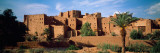 Buildings in a Village, Ait Benhaddou, Ouarzazate, Marrakesh, Morocco Fotografisk tryk af Panoramic Images