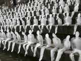 Around One Thousand Ice Figures by Brasilian Artist Nele Azevedo in Berlin, Germany Photographic Print