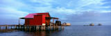Fishing Huts in the Sea, Pine Island, Florida, USA Lmina fotogrfica por Panoramic Images