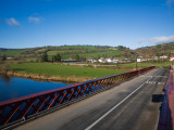 Bridge over the Blackwater River, Ballyduff, County Waterford, Ireland Photographic Print