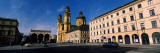 Buildings at a Town Square, Feldherrnhalle, Theatine Church, Odeonsplatz, Munich, Bavaria, Germany Photographic Print by Panoramic Images