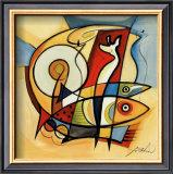 Sun Fish II Prints by Alfred Gockel