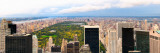 View of a City, Central Park, Upper Manhattan, Manhattan, New York City, New York State, USA Photographic Print by  Panoramic Images