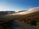Low Cloud Hugging the Comeragh Mountain Peaks, Near Mahon Falls, County Waterford, Ireland Photographic Print