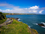 Road to Boatstrand Harbour, the Copper Coast, County Waterford, Ireland Photographic Print