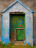 Paint Effects, Old Cottage, Bunmahon, County Waterford, Ireland Photographic Print