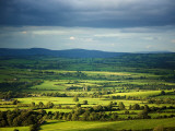 Pastoral Fields, Near Clonea, County Waterford, Ireland Photographic Print