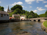 Awbeg River and Bridge, Castletownroche, County Cork, Ireland Photographic Print